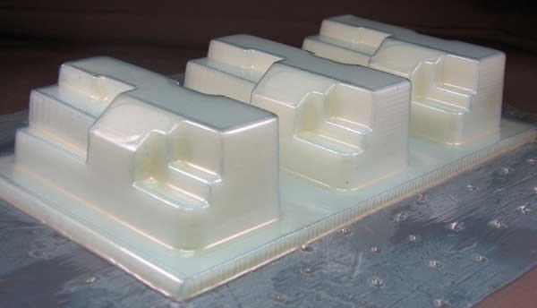 3d printed Vacuum moulds