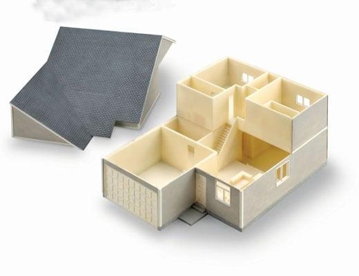 3D printed model