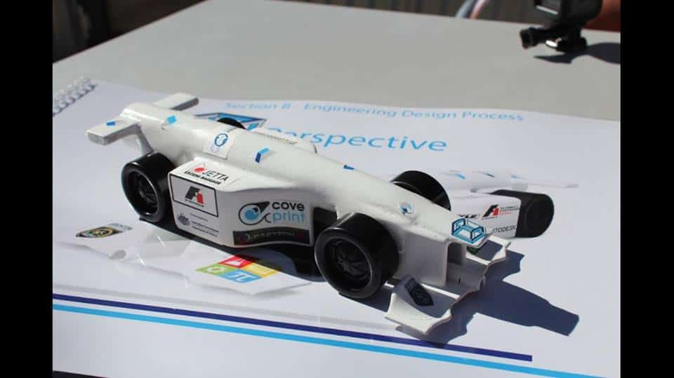 Perspective's Prototype F1 Car